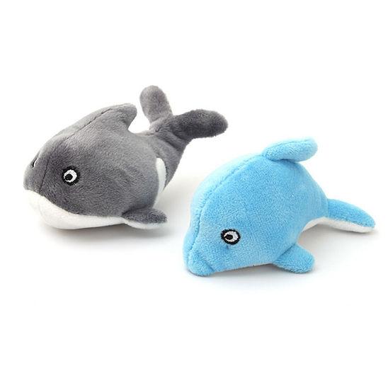 펫모닝 고래 돌고래 캣닢 장난감 1개 랜덤발송 사진