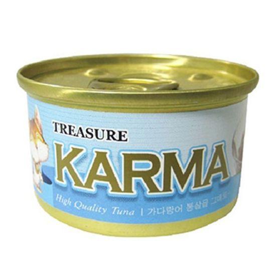 카르마 캣 캔 가다랑어&치어 80g 사진
