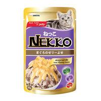 네코 젤리 참치&치즈 파우치 70g