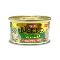 네코 골드 닭가슴살&야채 캔 85g