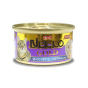네코 골드 닭고기&치즈 캔 85g