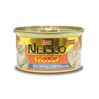 네코 골드 참치&연어 캔 85g