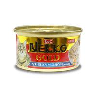 네코 골드 참치&닭고기 캔 85g