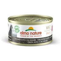 알모네이쳐 HFC 젤리 참치와 오징어 캔 70g