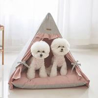 에코펫위드 반려동물 텐트 핑크