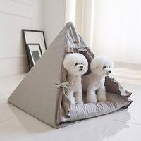 에코펫위드 반려동물 텐트 그레이