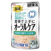 아이시아 건강캔 파우치 오랄케어 닭가슴살 후레이크 걸쭉한 타입 40g