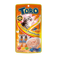 토로토로 캣 스틱 닭고기 가쓰오부시 15g x 5개입