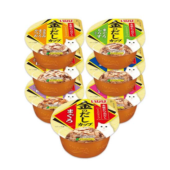 이나바 금빛육수 캔 7종 콤보 사진