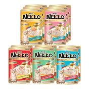 네코 그레이비 파우치 5종 콤보 12개