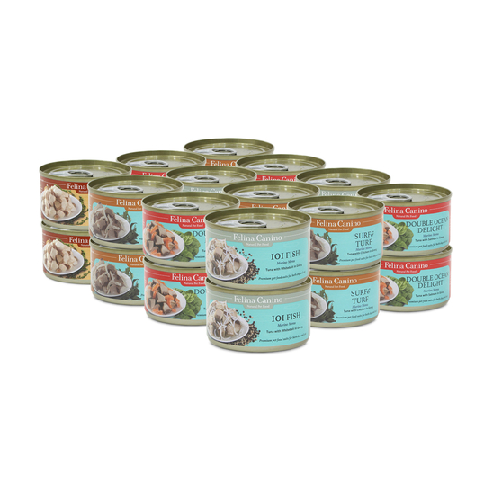 펠리나 캐니노 캔 4종 콤보 24개 사진